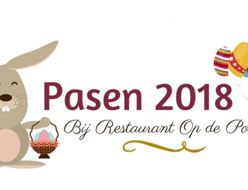 Pasen 2018 bij restaurant Op de Poort