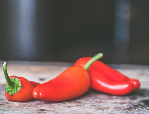 Waarom zijn pepers zo heet?