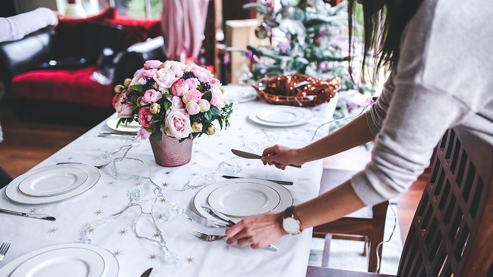 thuis een etentje organiseren