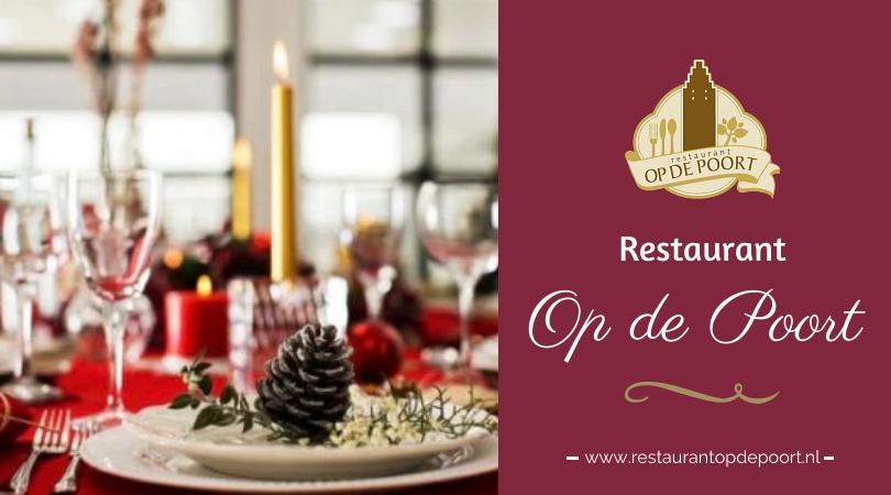 Kerst 2020 Restaurant Op de Poort